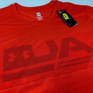 Under Armour Graphic Mesh Men's Shirt Red 2XL